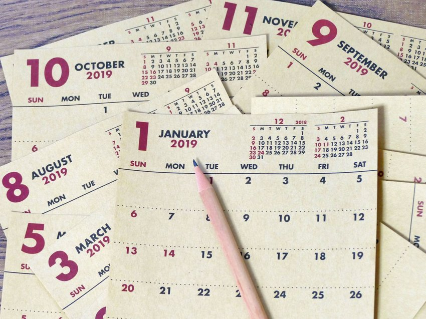 Origins of the names of months