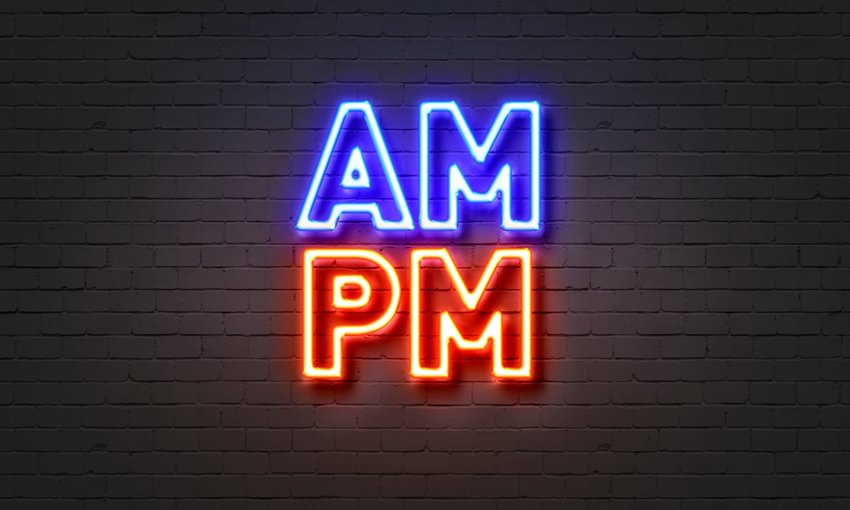 What do A.M. and P.M. actually stand for?