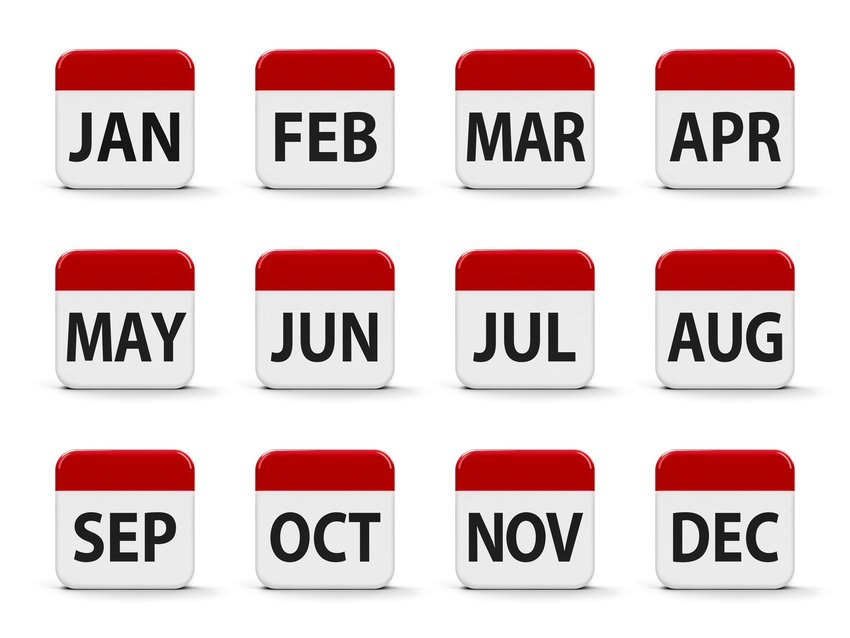 How Did The Months Get Their Names?