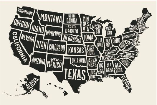 Where Did States Get Their Names Word Genius