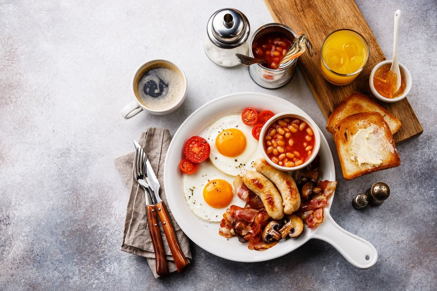 Do You Know What Goes into a Full English Breakfast?