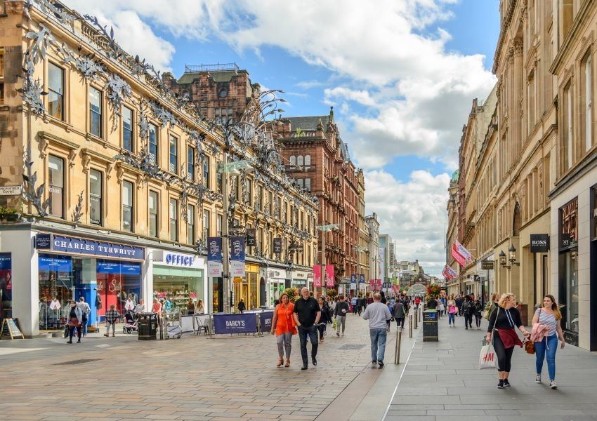 Photo of Buchanan Street in Glasgow