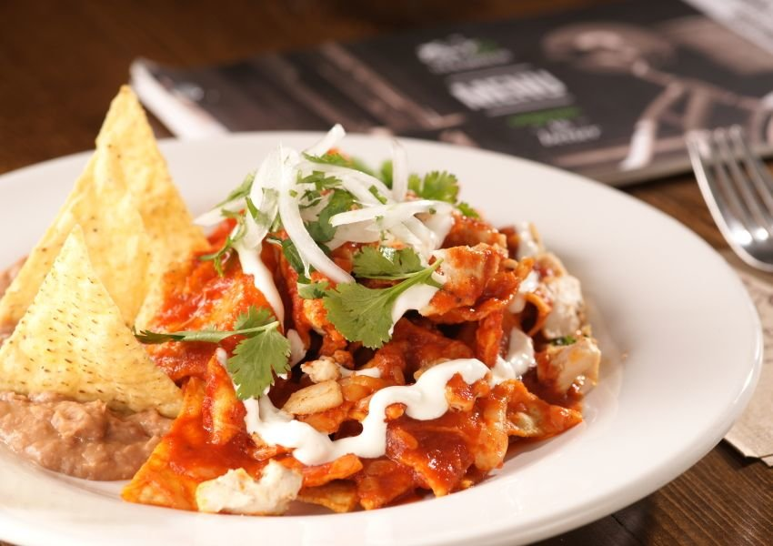 Photo of a Chilaquiles dish