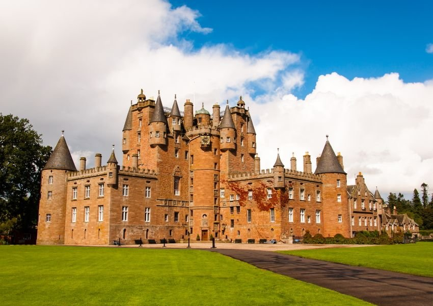 Image of the Glamis Castle