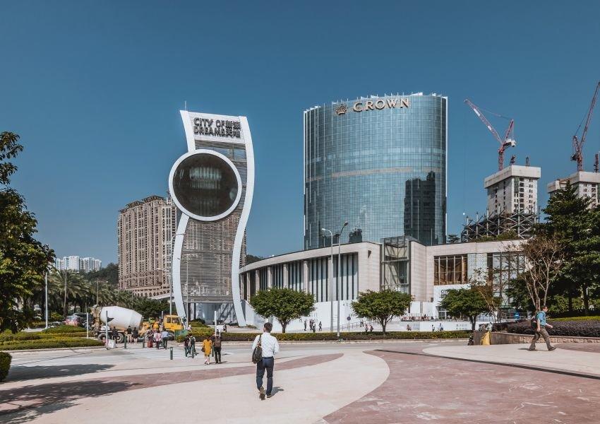 City of Dreams building in Macau