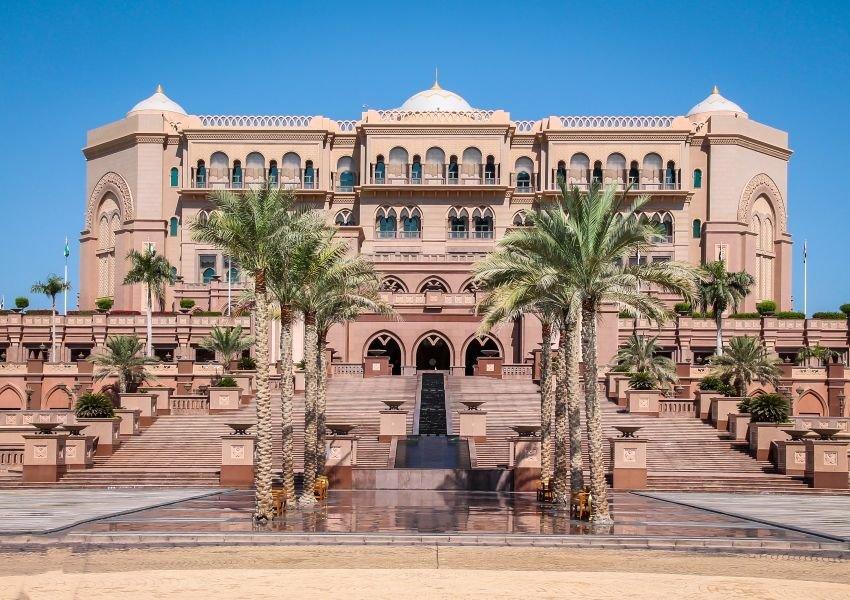 Photo of Emirates Palace in Abu Dhabi