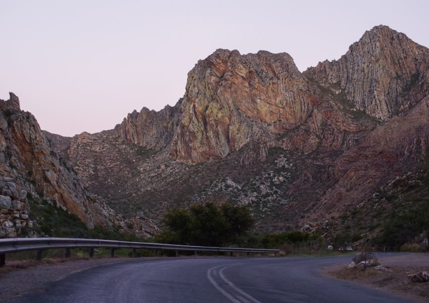 Photo of Cogmanskloof Pass at dusk