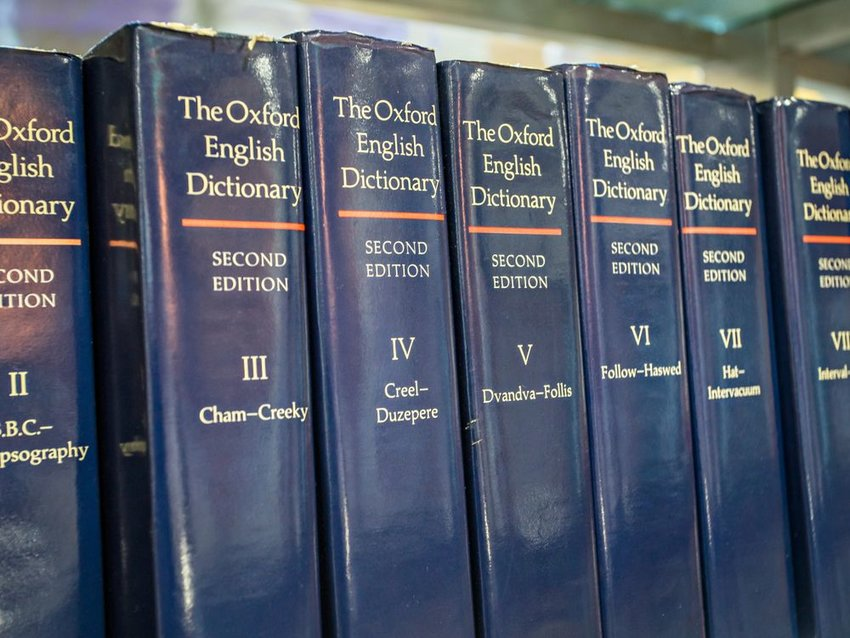 History of the modern dictionary