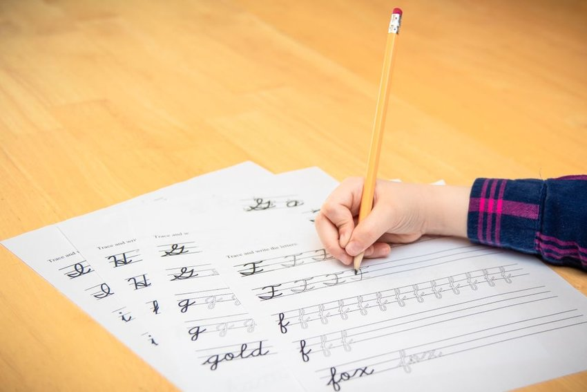 The twisty history of cursive writing