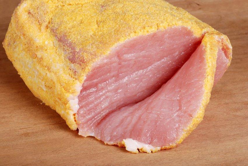 Photo of peameal bacon