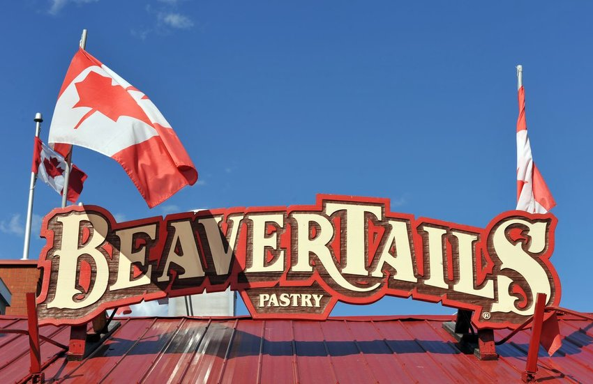 Photo of the BeaverTails pasty sign