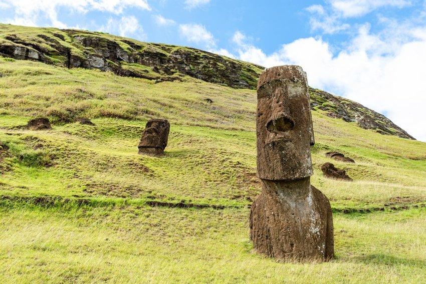 Photo of Moai statues