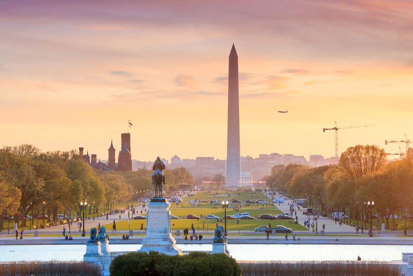 Photo of the National Mall in Washington, D.C.