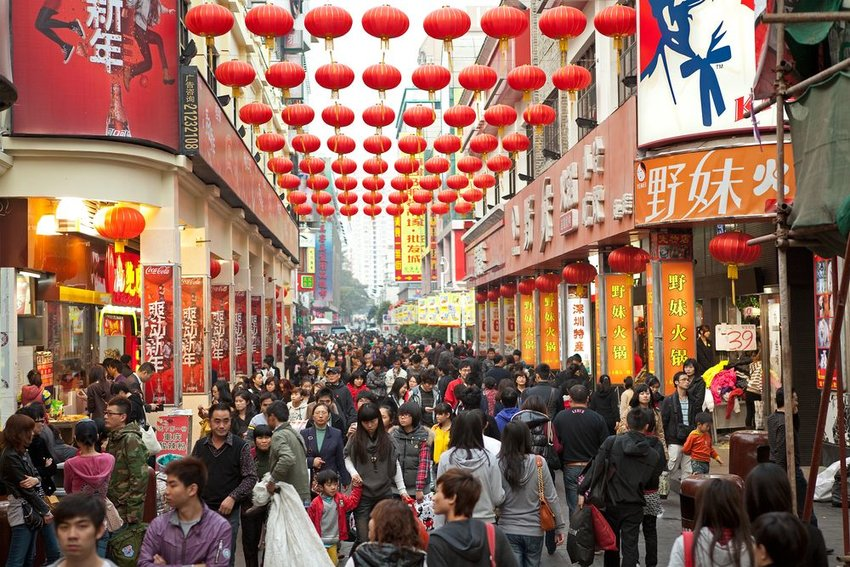5 Most Populous Cities in China