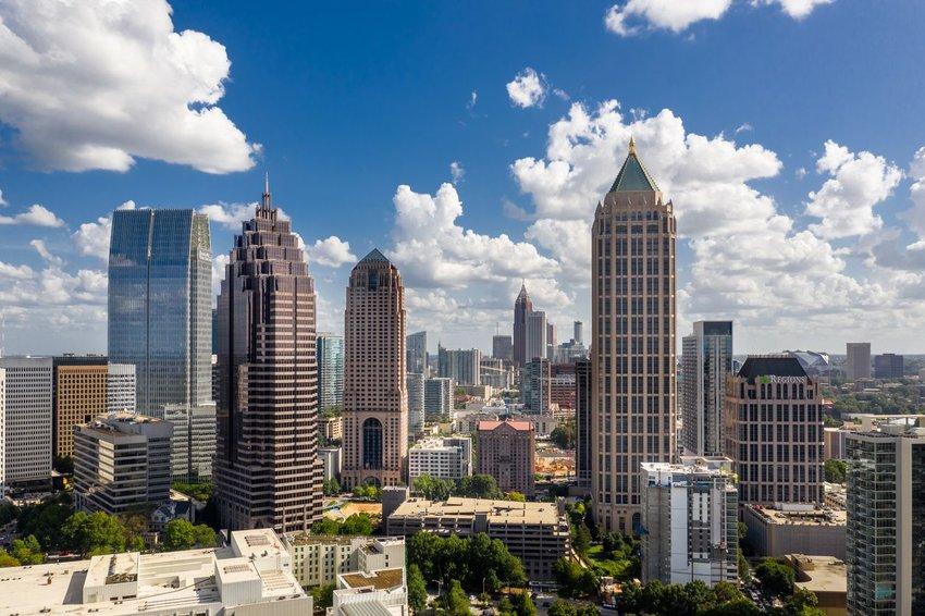 View of downtown Atlanta, Georgia