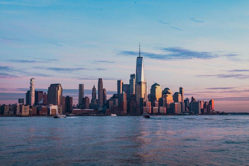 Hoboken at sunset