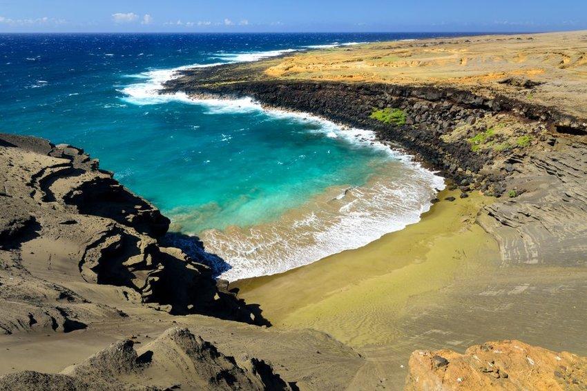Papakolea Beach, Big Island Hawaii
