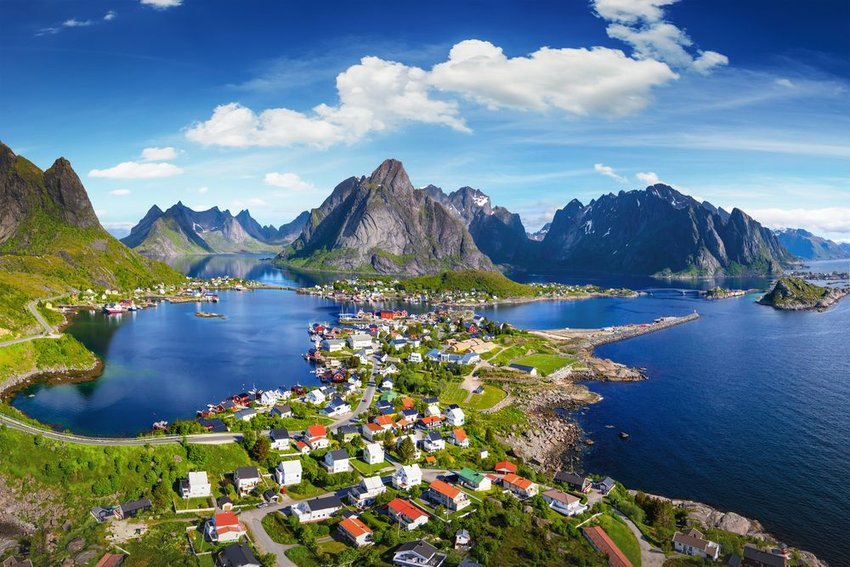The village of Reine, Lofoten, Norway