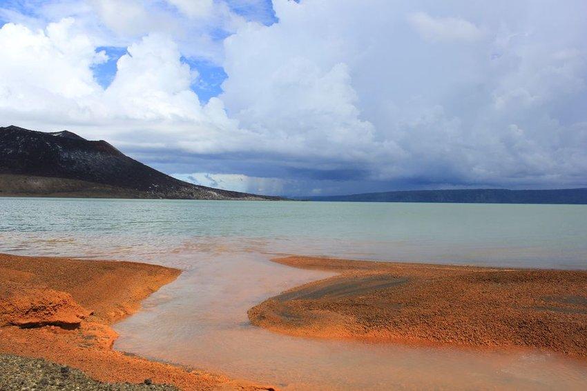 Tavurvur volcano. Rabaul, New Britain Island, Papua New Guinea