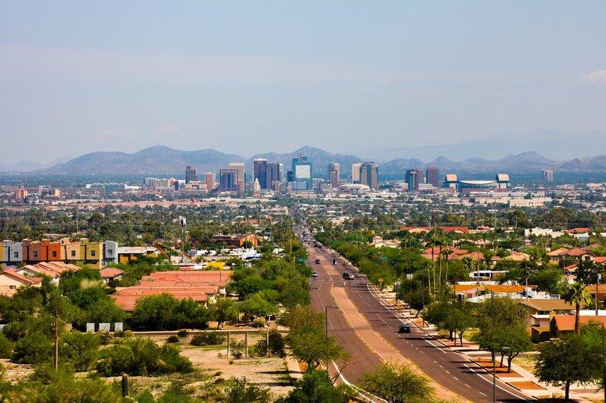View of Phoenix, Arizona