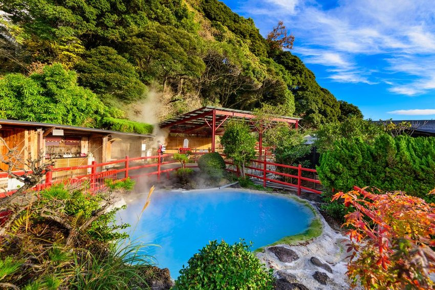Beppu, Japan hot springs