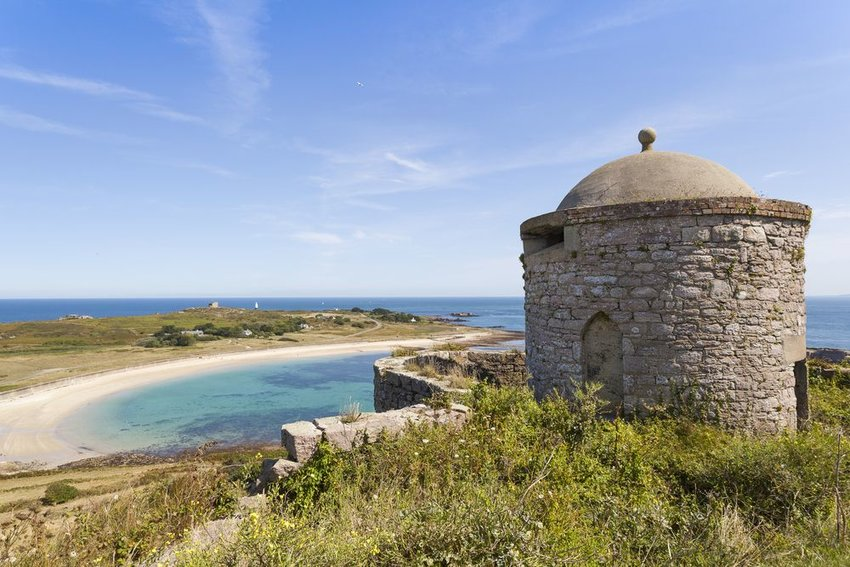 Fort Essex on the island of Alderney