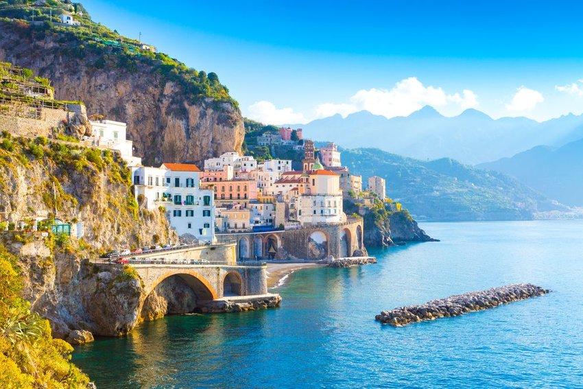 Mediterranean sea in Italy