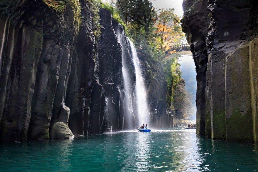 Manai Falls in Takachiho Gorge