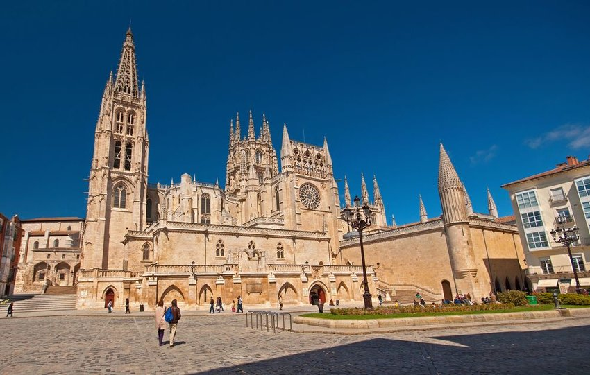 Iconic cathedral in Spain