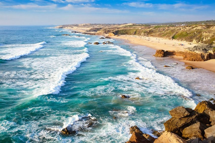 The coast of Alentejo, Portugal