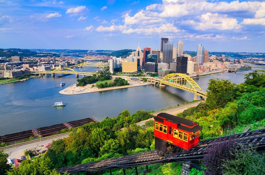 View of Pittsburg, Pennsylvania