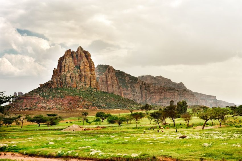 Landscape shot in Ethiopia