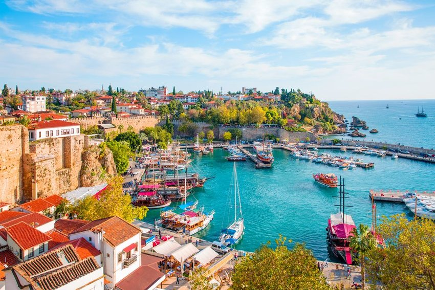 Waterfront in Antalya, Turkey