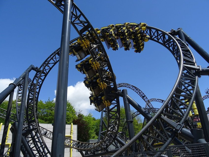 The Smiler roller coaster