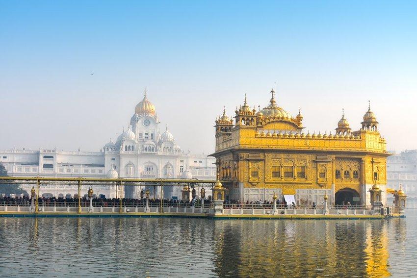 Golden temple Sri Harmandir Sahib in India