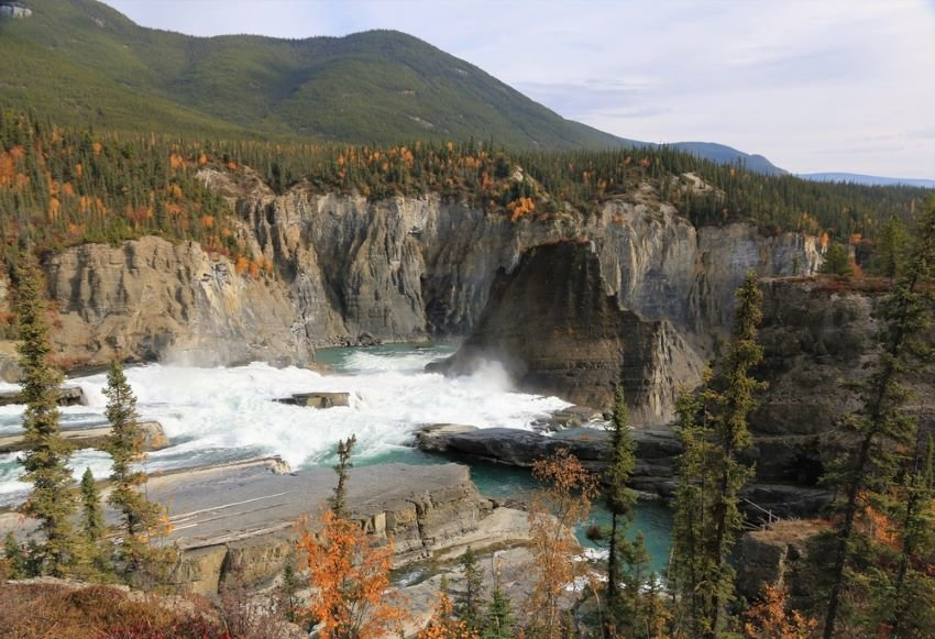 Nahanni National Park Reserve in the northwest Territories of Canada.