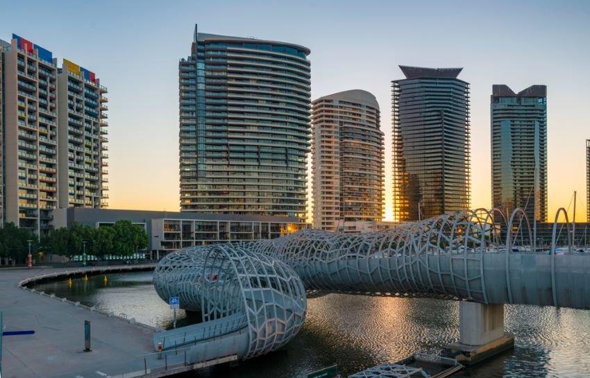 Webb bridge in Melbourne Victoria.