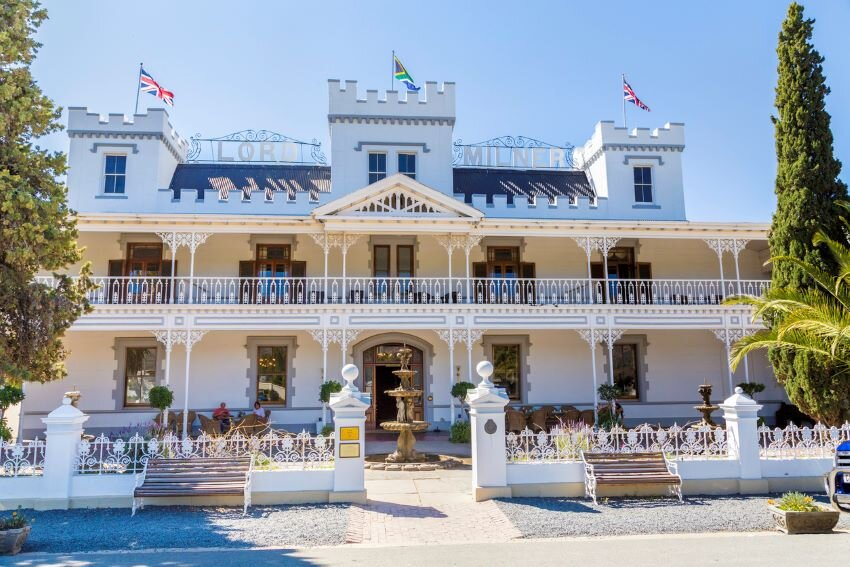 Lord Milner Hotel in South Africa.