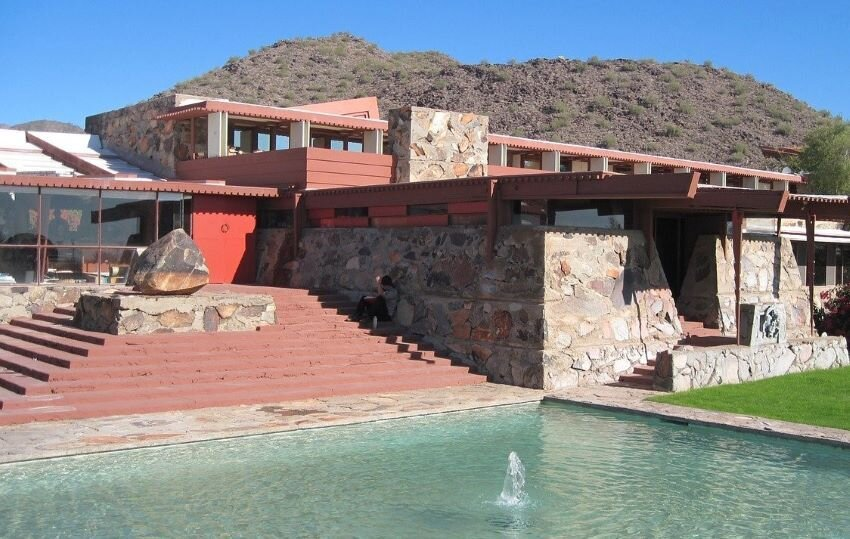 Taliesin West, the landmark winter home and school of Frank Lloyd Wright.