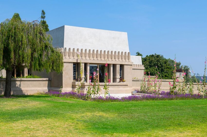 Hollyhock House in Los Angeles, California